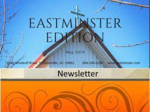 Eastminster Newsletter